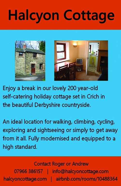 Holiday cottage, Halcyon Cottage available for holiday and short-term let