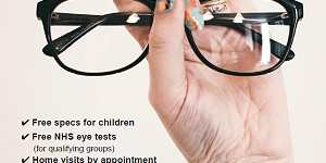 Advert for Martyn Newman Optician. Call 01773 857894