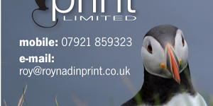 Roy Nadin Print advert