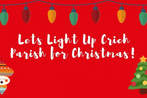 Let's light up Crich Parish this Christmas banner