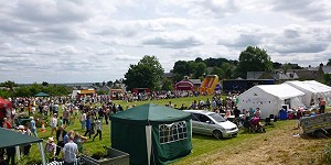 Picture of the village fete