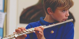 Fritchley School flautist