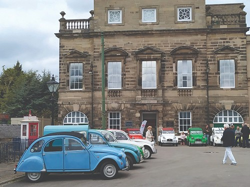 Building at the Tram Museum, Crich