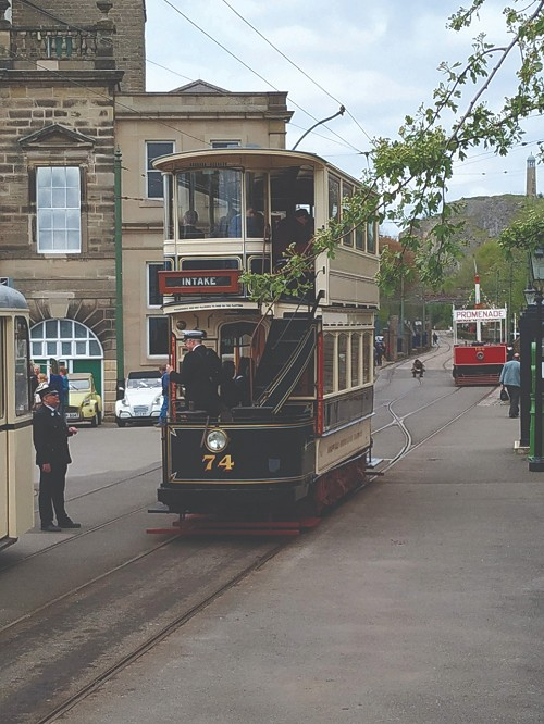 Tram at Town End