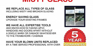 Clearview Glass advert. Call 07837 476873