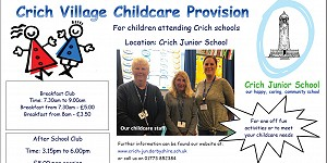 Crich Village Childcare Provision for wraparound care advert