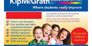 Kip McGarth Education Services advert