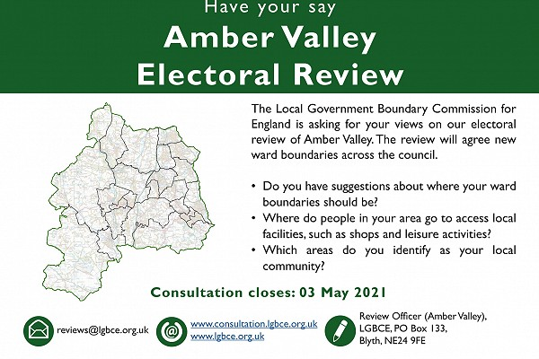 poster giving details of the consultation