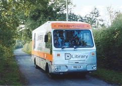 Picture of a Derbyshire Mobile Library